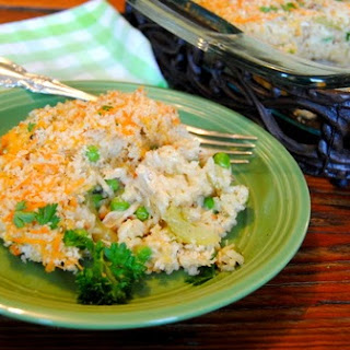 Old Fashioned Chicken and Rice Casserole.