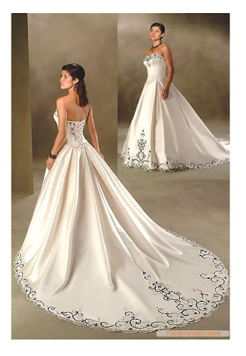 Satin Bridal Wedding Dress