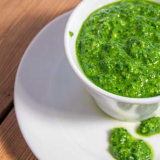 5 Minutes Kale and Rucola Pesto Recipe