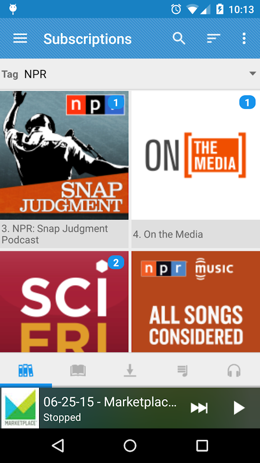 Podcast Republic- screenshot