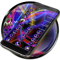 Dialer Neon Abstract Theme icon