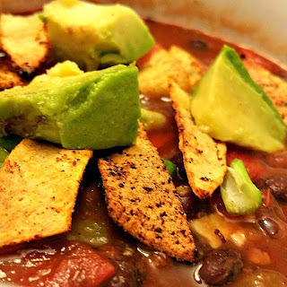Spicy Mexican Tortilla Soup.