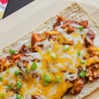 BBQ Chicken Flatbread Pizzas