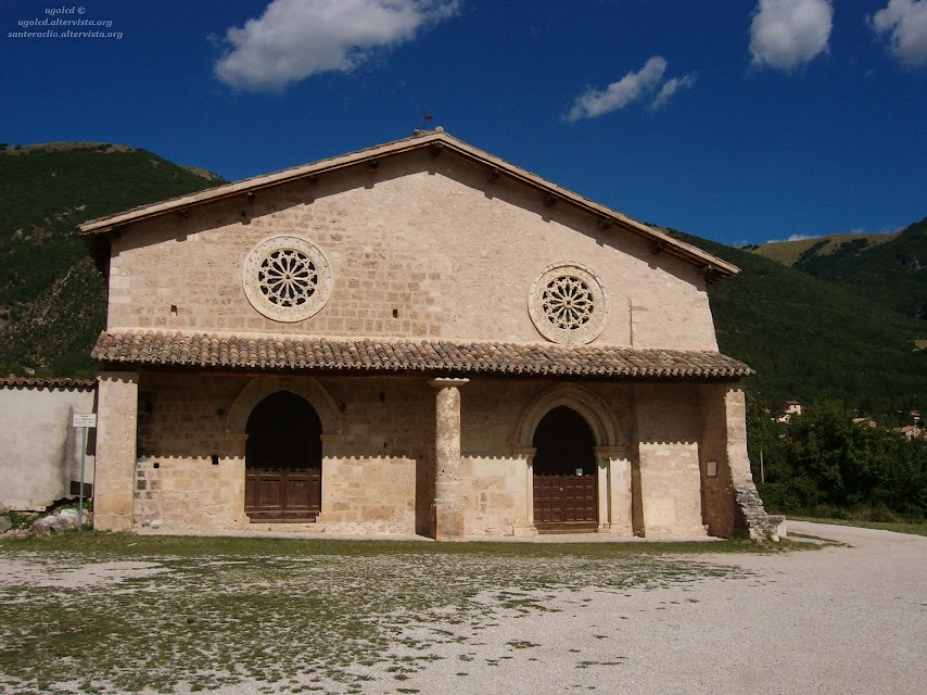 Val Nerina: Chiesa di San Salvatore