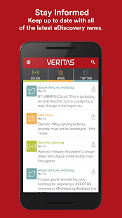 Veritas eDiscovery Exchange- screenshot thumbnail