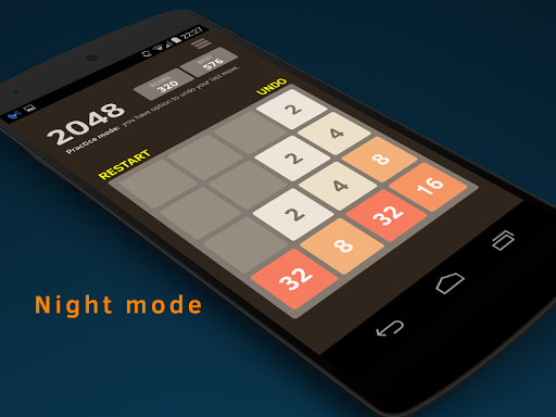 2048 Number puzzle game screenshot 2