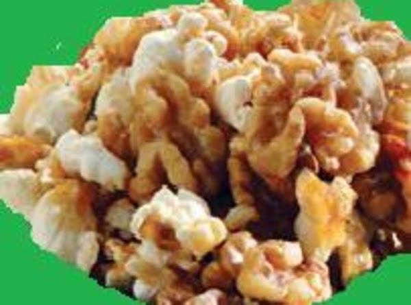 Dad's Honey Crunch Popcorn Recipe