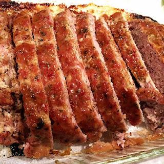 Best Ham Loaf ~ Mustard Glaze Recipe