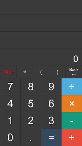 電卓Plus -履歴表示 カッコ機能 ルート etc-