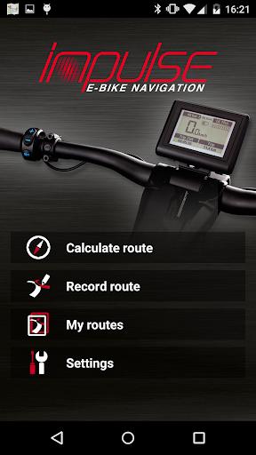 Impulse E-Bike Navigation