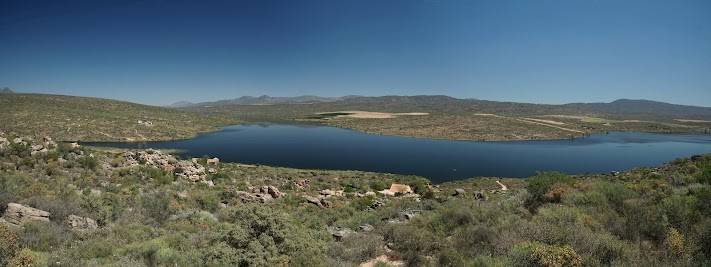 Blick über den Clanwilliam dam