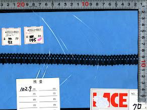 Photo: №42022-997トーション黒:巾16mm