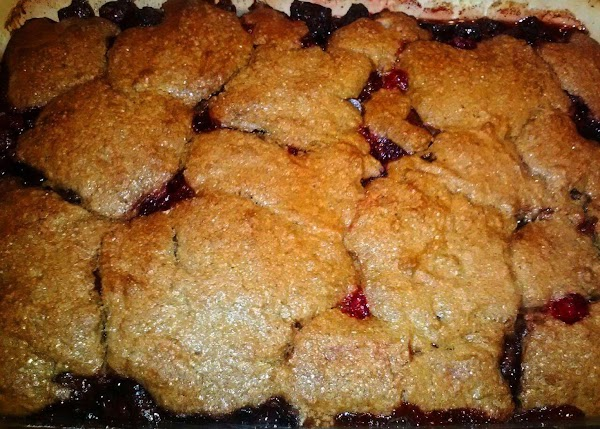 Chocolate Beet Cranberry Gingerbread Cobbler Recipe