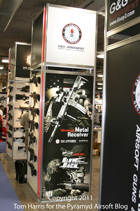 Airsoft Guns, G&G, Guay & Guay, Airsoft Shot Show 2011 News, Airsoft Automatic Electric Gun, Airsoft AEG, Pyramyd Air, Pyramyd Airsoft Blog, Airsoft Obsessed, Airsoft Blog,