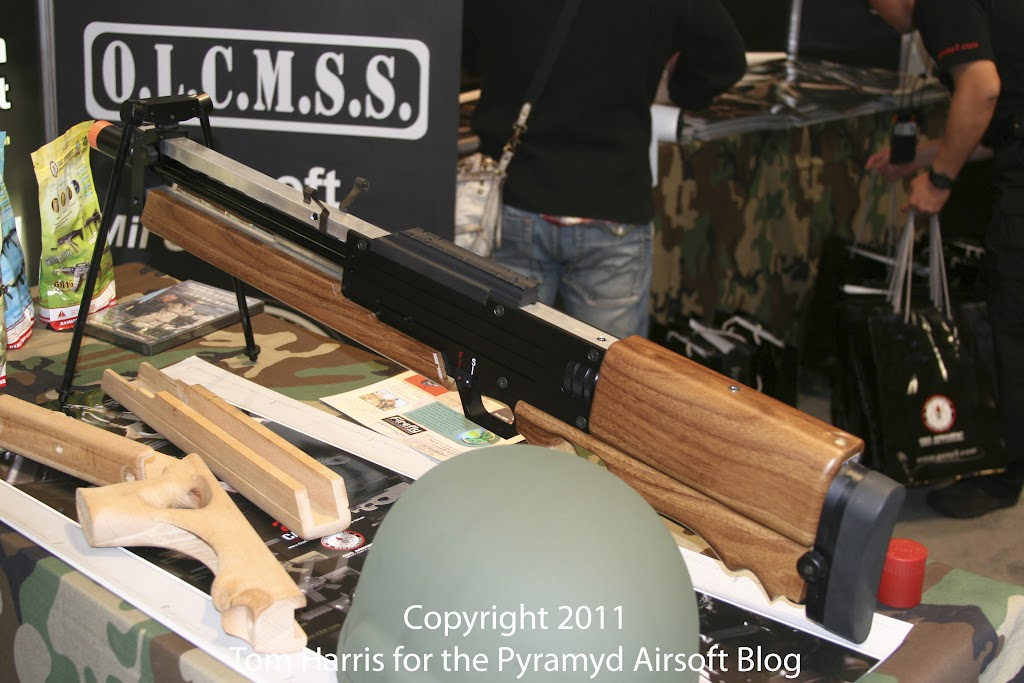 Airsoft Guns, G&G, Guay & Guay, Airsoft Shot Show 2011 News, PolarStar HPA Fusion Engine,G&G WA2000 Airsoft Sniper Rifle, Airsoft Automatic Electric Gun, Electric Blowback Rifle, Close Quarter Combat Airsoft Gun, Designated Marksman Rifle, convert airsoft rifle to HPA,Airsoft AEG, Airsoft EBBR, CQB Airsoft Gun, Airsoft DMR, Airsoft HPA rifle,Pyramyd Air, Pyramyd Airsoft Blog, Airsoft Obsessed, Airsoft Blog,
