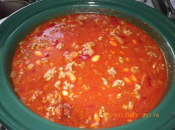 Sherry's 49'er Crock Pot Chili