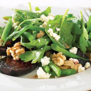 Roasted Beet and Walnut Salad.