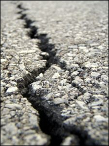Cracking Caused by Asphalt Oxidation