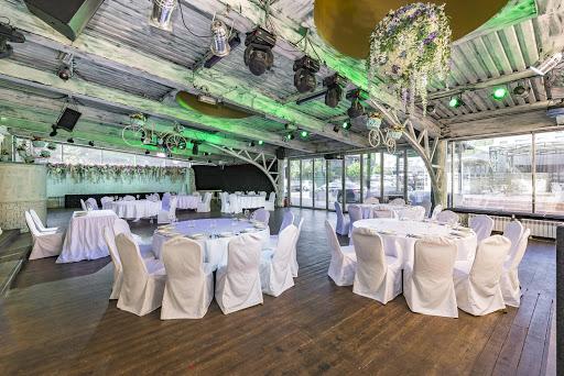 Банкетный зал в ресторане SillyCat для свадьбы