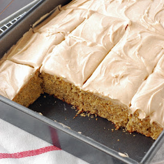Frosted Banana Bars with Cinnamon Cream Cheese Frosting