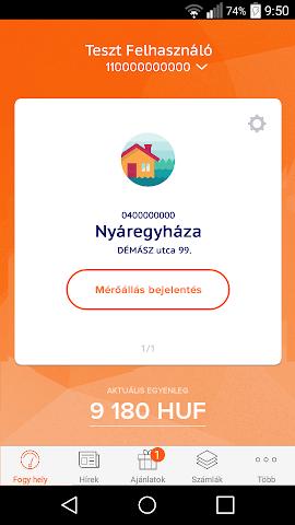 android EDF DÉMÁSZ Ügyfélszolgálat Screenshot 0