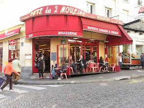 Photo: Cafe des Deux Moulins (of Amelie fame).