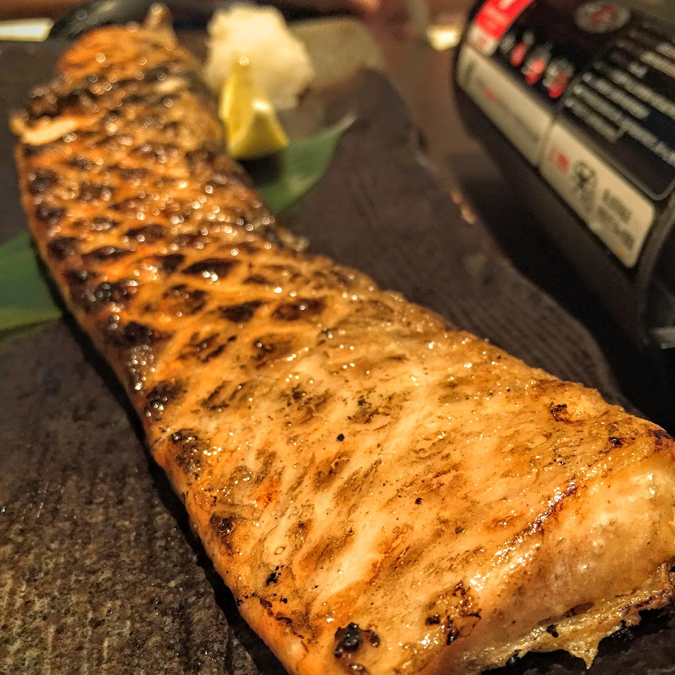 Grilled Salmon Belly