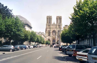 Photo: Domkirken i Reims.
