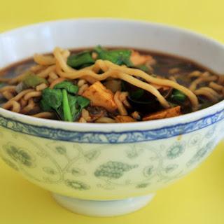 Tofu Ramen Noodle Soup