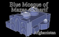 Blue Mosque of Mazar-e-Sharif -Afghanistan-