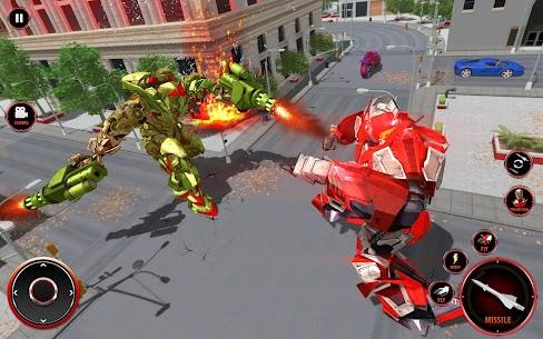 Flying Fire Dragon Robot Transform Bike Robot Game 2