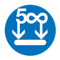 Easy Download 500px icon
