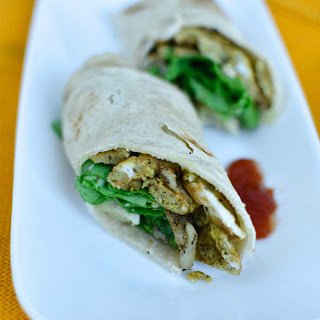 Easy Breakfast Wraps.