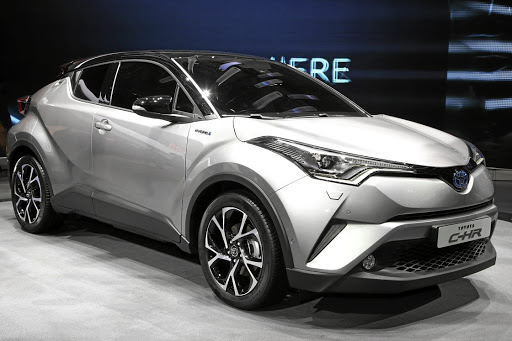 The Toyota C-HR.    Picture: NEWSPRESS