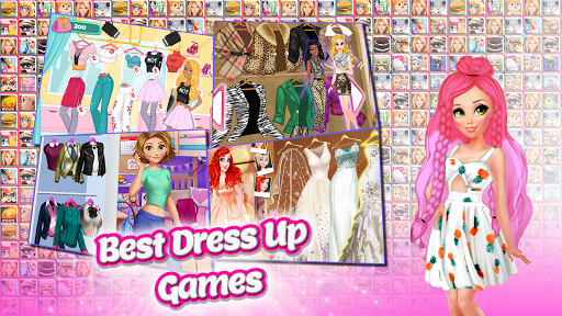 Frippa Games for Girls  captures d'écran 1