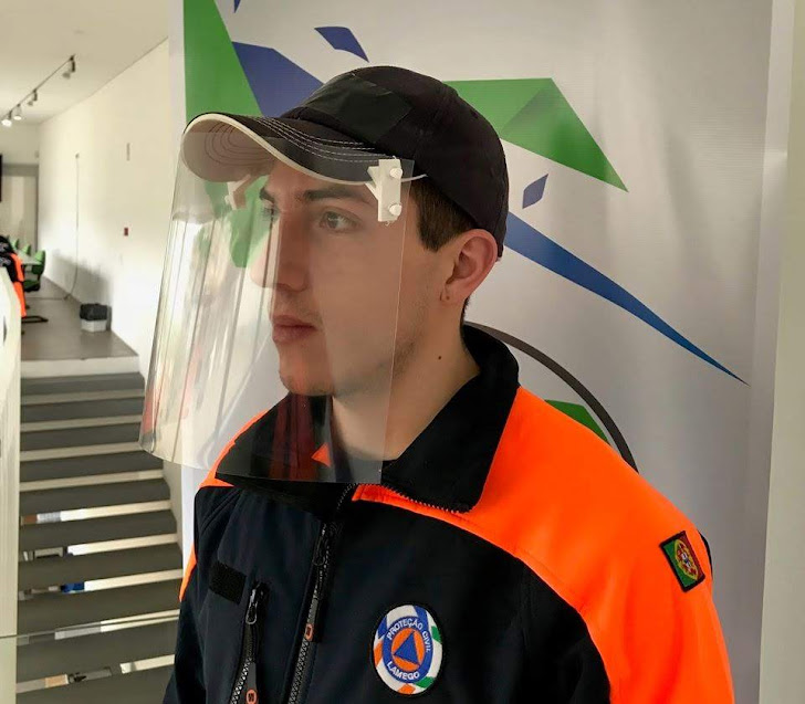 Município de Lamego distribui viseiras de proteção individual