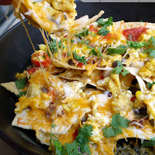 Breakfast Nachos Supreme.