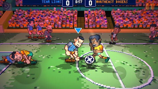 Super Jump Soccer Screenshot