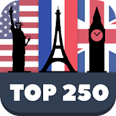 Top 250 World Famous Places