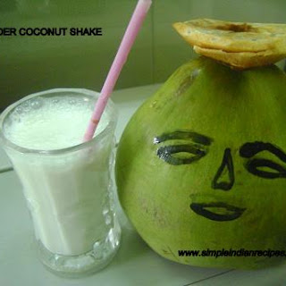 Tender Coconut Shake.