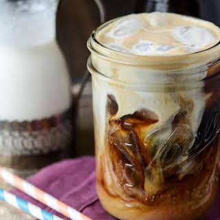 Vanilla Cinnamon Iced Coffee.