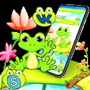 Happy Cute Frog Theme