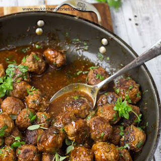 Maple, Chilli Meatballs