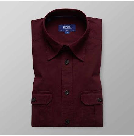 ETON vinröd överskjorta