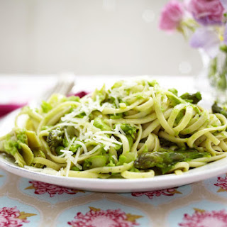 Spring Vegetable Linguine