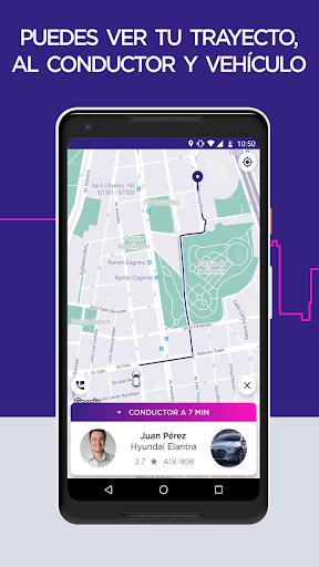 Fast Taxi - App gratuito de viajes. screenshot 4