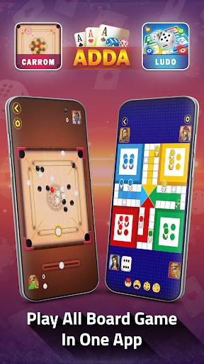 Adda : Rummy , Callbreak ,Solitaire & 29 Card Game modavailable screenshots 5