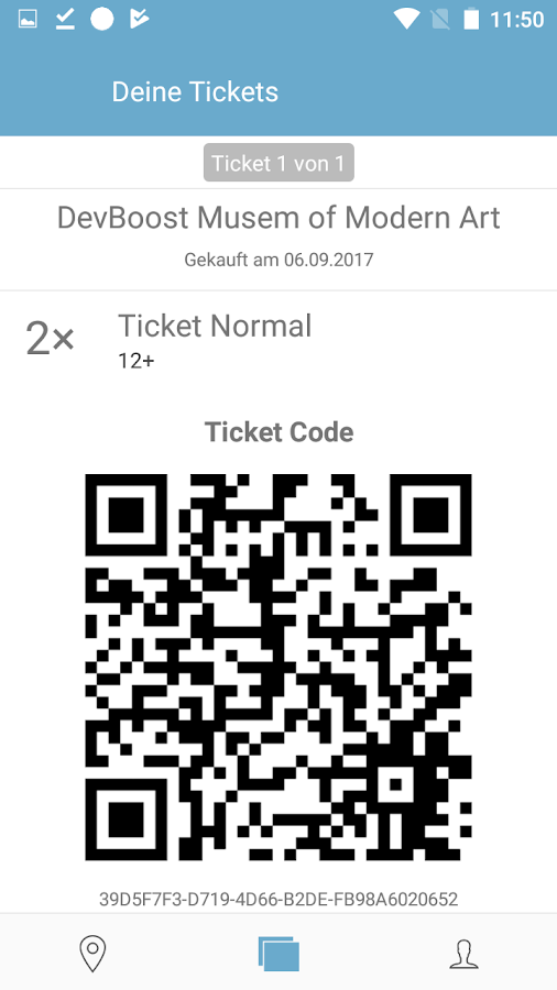 twickly - Mobile Tickets- screenshot