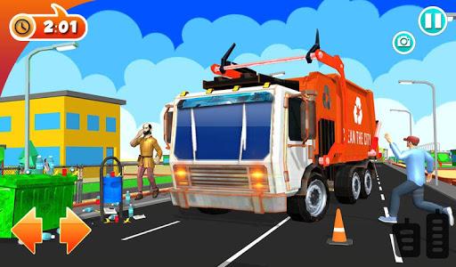 Urban Garbage Truck Driving - Waste Transporter 1 screenshots 21