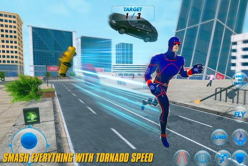 Grand Light Speed Robot Hero City Rescue Mission  screenshots 13